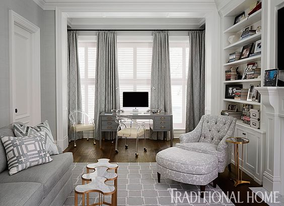 wonderful giuliana bill living room | Bill and Giuliana Rancic's Chicago Home | Traditional Home ...