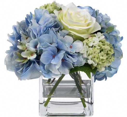 Heroic Budgeted Wedding Flower Arrangements Great Post To Read In 2020 Blue Flower Arrangements Hydrangea Flower Arrangements Blue Hydrangea Centerpieces