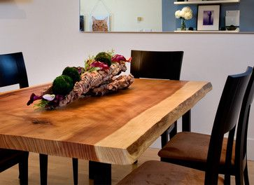 SOMA Loft- Dining table detail by Kimball Starr Interior Design contemporary-dining-room