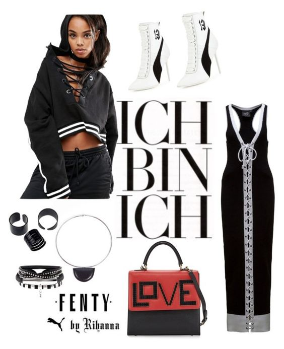 """""""Untitled #328"""" by myriamsarah on Polyvore featuring Puma, Les Petits Joueurs and Acne Studios"""