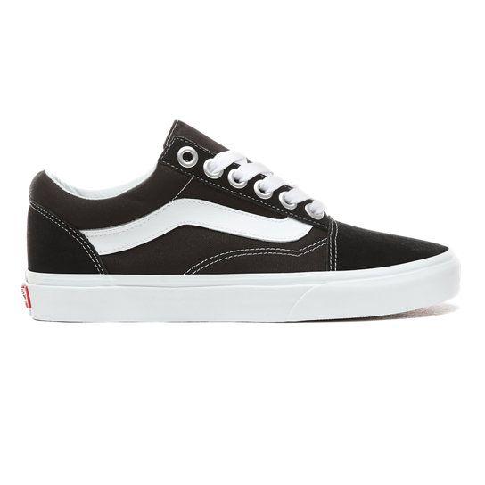 Old Skool OS Shoes   Black   Vans   Black vans, Lace up shoes ...