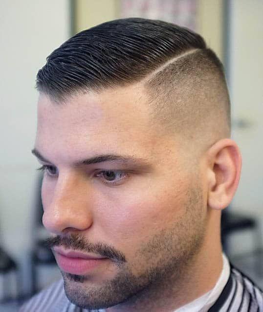 The 30 Most Stylish Comb Over Fade Haircuts 2019 Hairstyles Guide Comb Over Fade Haircut High And Tight Haircut Military Haircut