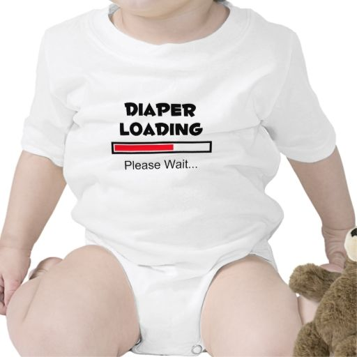 Diaper Loading - Please Wait... T Shirt