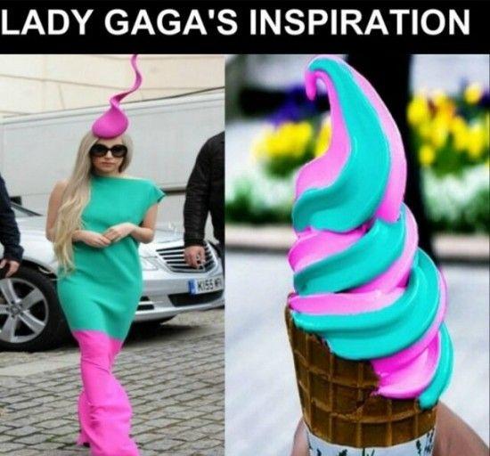 Lady GaGa's Clothing Inspiration - NoWayGirl
