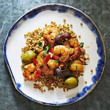 Moroccan Shrimp and Couscous - FamilyCircle.com