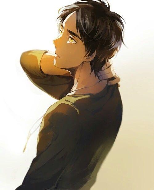 Shingeki no Kyojin | Attack on Titan | Anime | Boy | Kawaii | Eren Jaeger | Cute | Badass | Art: