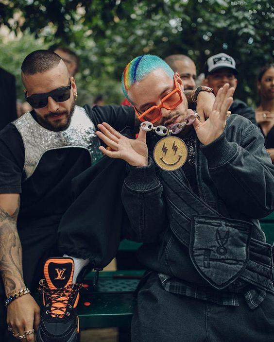 Maluma J Balvin On Behance In 2020 Mens Editorial Mens Winter Fashion Hip Hop Fashion