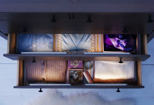 Dioder Battery Operated Lamps Can Be Placed In Drawers
