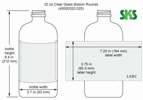 Spray Bottle Label Template Unique 4 Oz Bottle Label Template Label Templates Bottle Label Template Printable Label Templates
