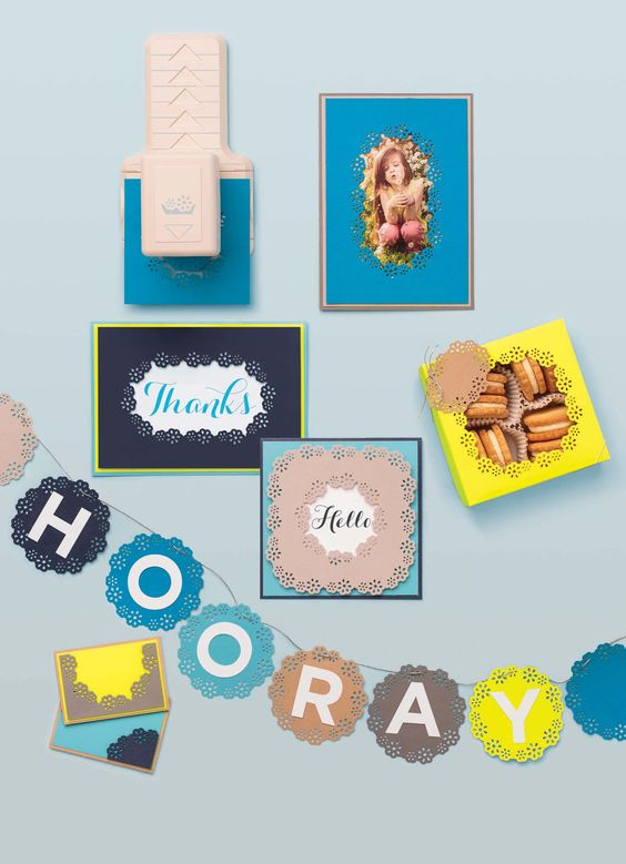 Martha's on HSN! Catch her on July 23rd as she unveils the brand new Frame Border Punch from #marthastewartcrafts!