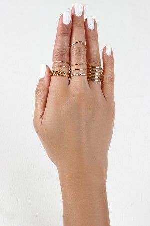 Curb Link and Cage Ring Set