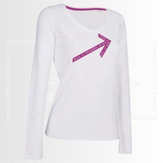 Women Long Sleeve T-Shirt Claire von Jajis-ART auf DaWanda.com
