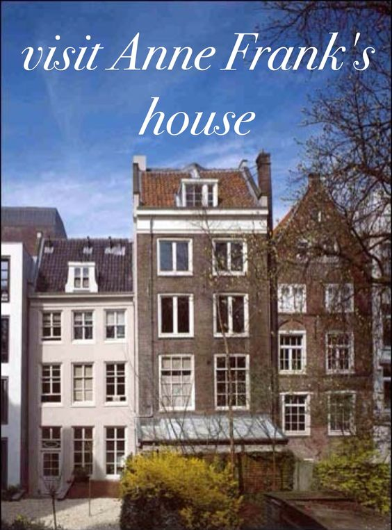 Anne Frank's house in Amsterdam is now a museum.: