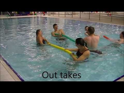 63 Aqua Aerobics Team Hiit 2 Youtube In 2020 Pool Workout Aerobics Workout Aqua Fitness
