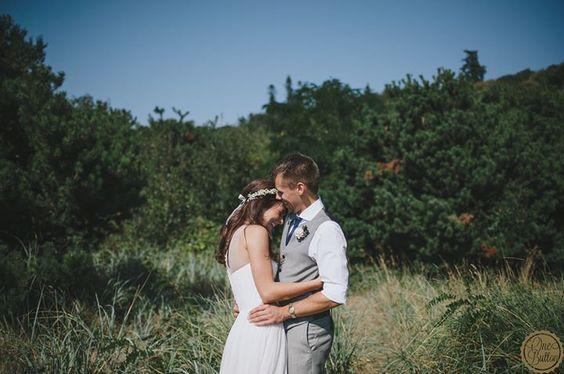 Golden Gardens Seattle Wedding. OneButton Photography