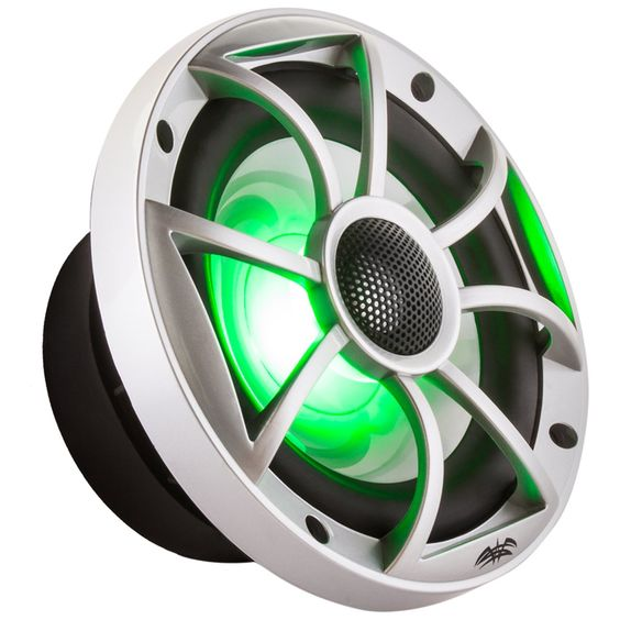 • the world s catalog of ideas wet sounds xs 65i series 6 5 silver cone marine coaxial speaker rgb