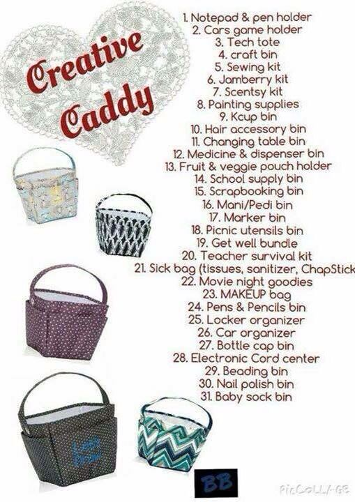Creative Caddy www.mythirtyone.com/julieduncan