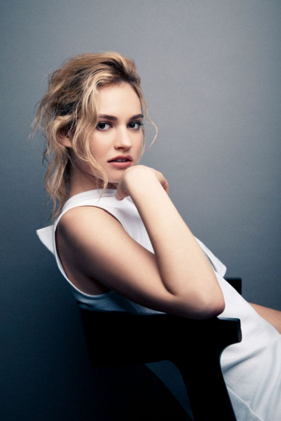 Cinderella Star Lily James Talks Prince Charming, Glass Slippers ...