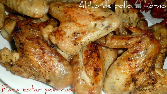 Para estar por casa: Alitas de pollo al horno
