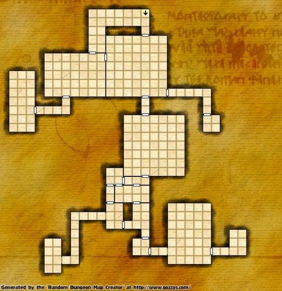 Random Dungeon Map Generator!