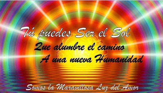 Somos la Maravillosa Luz del Amor.