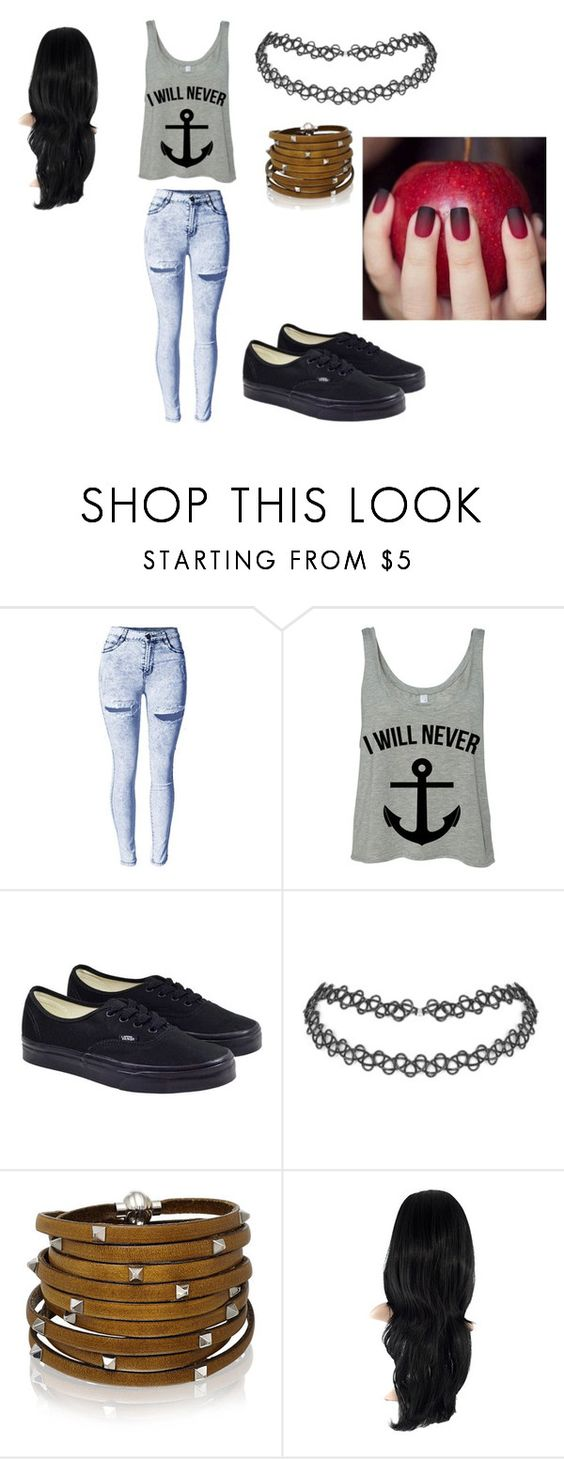 """""""Thing"""" by zahlia-tibbs on Polyvore featuring beauty, Vans and Sif Jakobs Jewellery"""