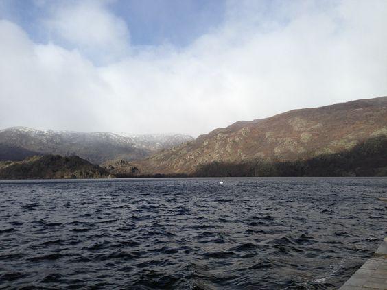 Lago de Sanabria. Invieno