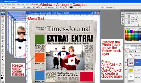 Newspaper create your own and create your on pinterest for Create your own newspaper template