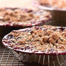 Cherry Berry Apple Crumble #recipe #glutenfree