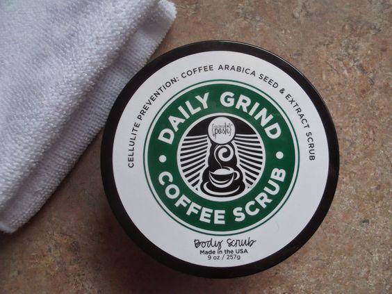 Daily Grind Coffee Scrub by Perfectly Posh www.perfectlyposh.com/TJSweeney