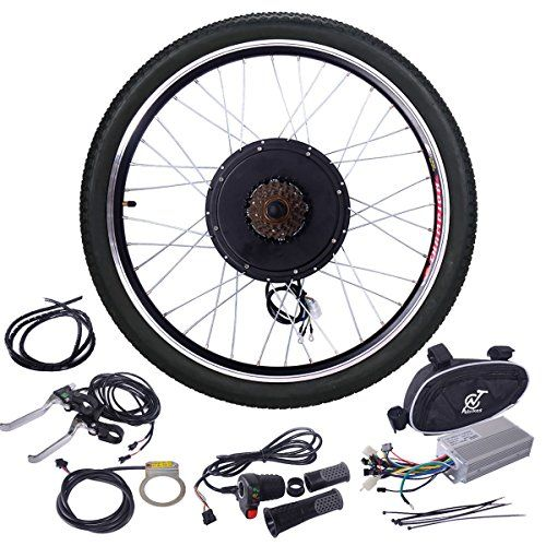Jaxpety 48v 1000w Electric Bicycle Cycle E Bike 26 Rear Wheel Ebike Conversion Kit Hub Motor Wheel Electric Bike Kits Best Electric Bikes Powered Bicycle