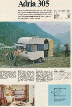 Adria 305 add from the 70s: