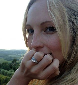 Candice Accola's Engagement Ring
