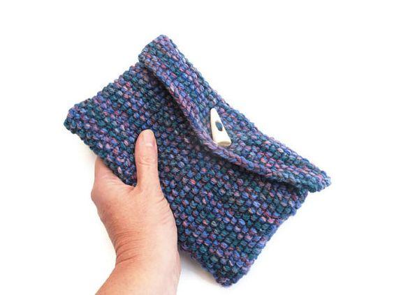 Tejidos en lana en puntada del musgo a mano por TheFeminineTouch, £18.90