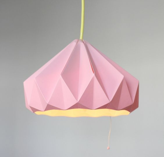 lampe origami faire soi m me 10 designs cr atifs design origami et roses. Black Bedroom Furniture Sets. Home Design Ideas