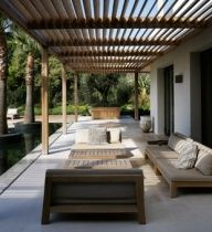 .Louvered roof over deck. Need to check into pricing but neat idea.