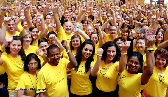The #LIVESTRONG Assembly brings together hundreds of partners and leaders from around the world for training and collaboration!