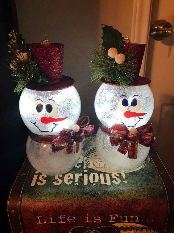 Cheap christmas snowman decorations