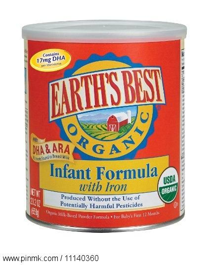 Earth's Best Organic Infant Formula with Iron, DHA & ARA, 23