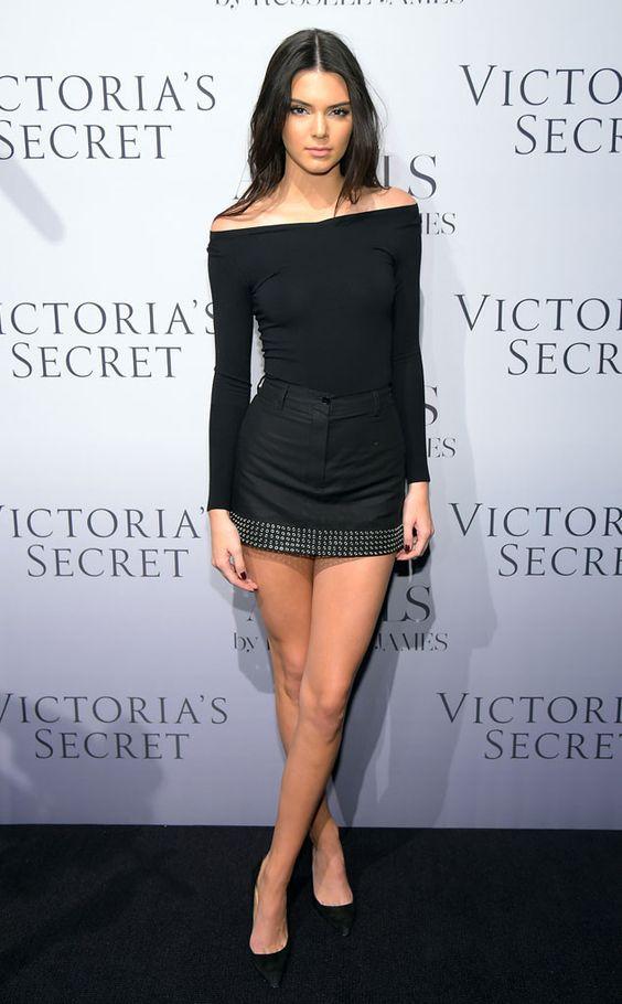Ela não gostou do flagra!Kendall Jenner foi vítima de um clique indiscreto na noite dessa quarta-feira, 10, du. E! Online Brasil: