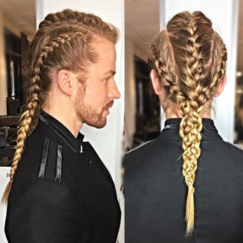 49 Badass Viking Hairstyles For Rugged Men 2020 Guide Mens Braids Hairstyles Long Hair Styles Viking Hair