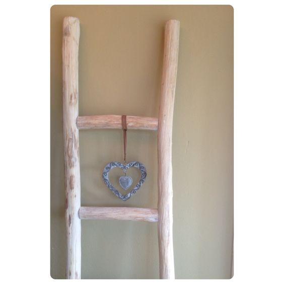 20170420&215215_Ladder Voor Badkamer ~ Decoratieve ladder voor keuken of badkamer (voor handdoeken en ander