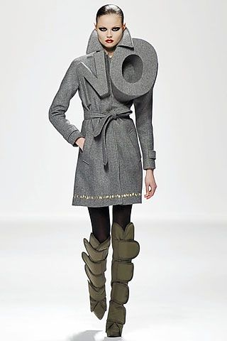 Viktor & Rolf protest for slow fashion. protest, campaign, make a statement, stand your ground.: