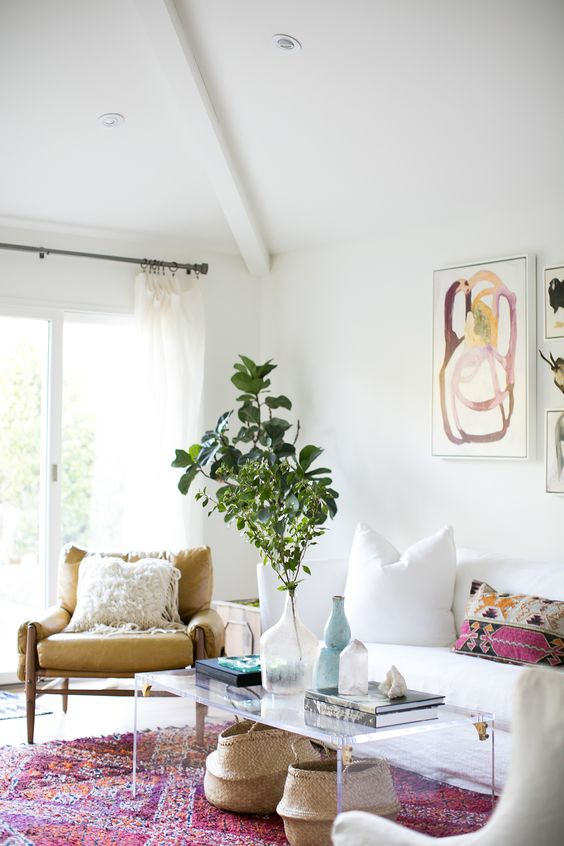interior design orange county - Modern Meets Vintage harm in an Orange ounty Living oom ue ...