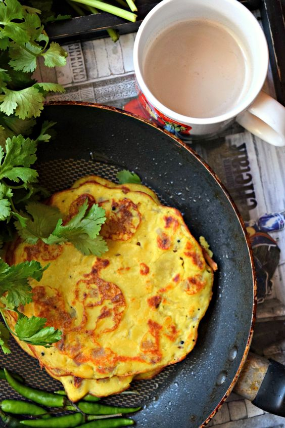 Vegan Lentil Crepes Using Leftover Dal - Vegan Lentil Crepes is a power packed nutritious recipe using leftover dal. Ideal for breakfast or snack, these crepes are easy to make and delicious too!