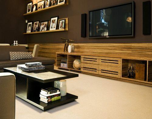 Flat Screen TV Wall Designs | Luxury TV Wall Mounted flat screen ...