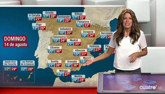 EN VÍDEO: Toda la información meteorológica con Laura Madrueño  ... - http://www.vistoenlosperiodicos.com/en-video-toda-la-informacion-meteorologica-con-laura-madrueno/
