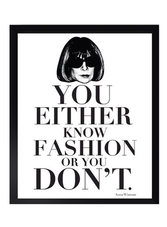 You Either Know Fashion: