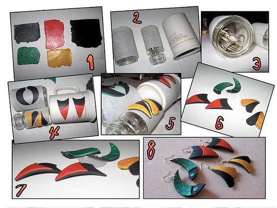 Curved shapes by Art Studio Katherine, via Flickr