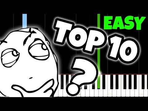 Top 10 Songs Everyone Knows But Nobody Knows The Name Of And How To Play Them Youtube In 2020 Songs Everyone Knows Songs Piano Tutorials